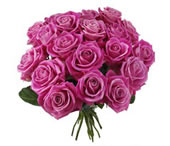 Chic bouquet: Pink roses